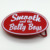 Smooth and the bully boys custom painted metal belt buckles western style