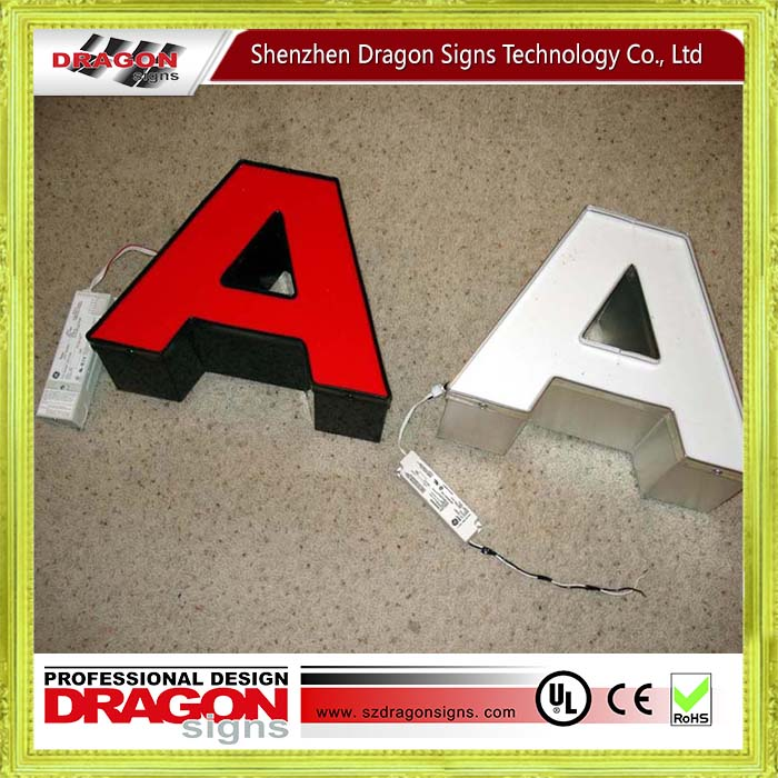 Factory direct sales channel letters for usa buy channel for 24 inch channel letters