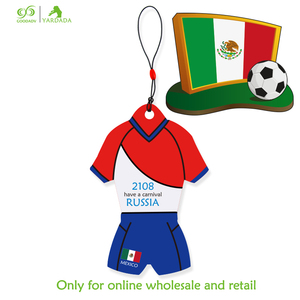 Hot Sale In Stock Promotional Gift Mexico Jerseys Shape Refresher,Car Scent Solid Perfume,Room Air Freshener,