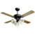 42inch Decorative 4 blades ceiling fan with light and crystal