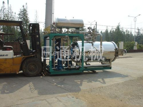 High pressure juice processing retort machine for glass bottle