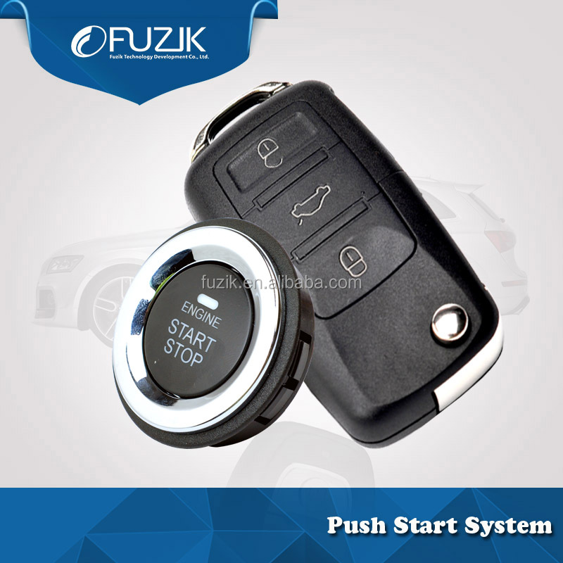 OEM Factory Car Alarm Security Systems with Keyless Entry Lock/Unlock Smart Key for VW Polo
