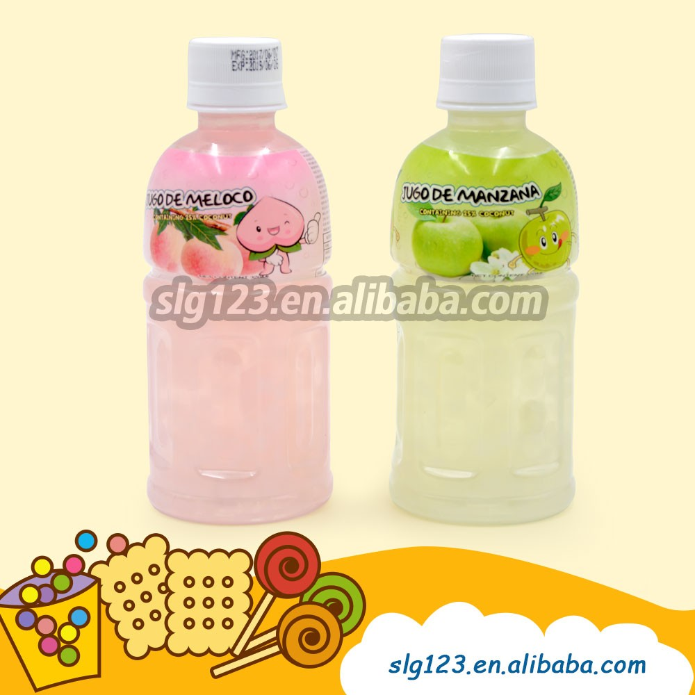 <strong>Fruit</strong> Juice 320ml peach&apple flavar soft Drink