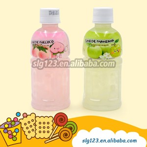 Fruit Juice 320ml peach&apple flavar soft Drink