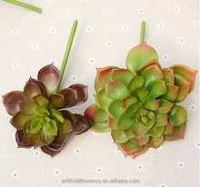 wholesale Artificial succulent plants plastic material fake succulent for pot plant