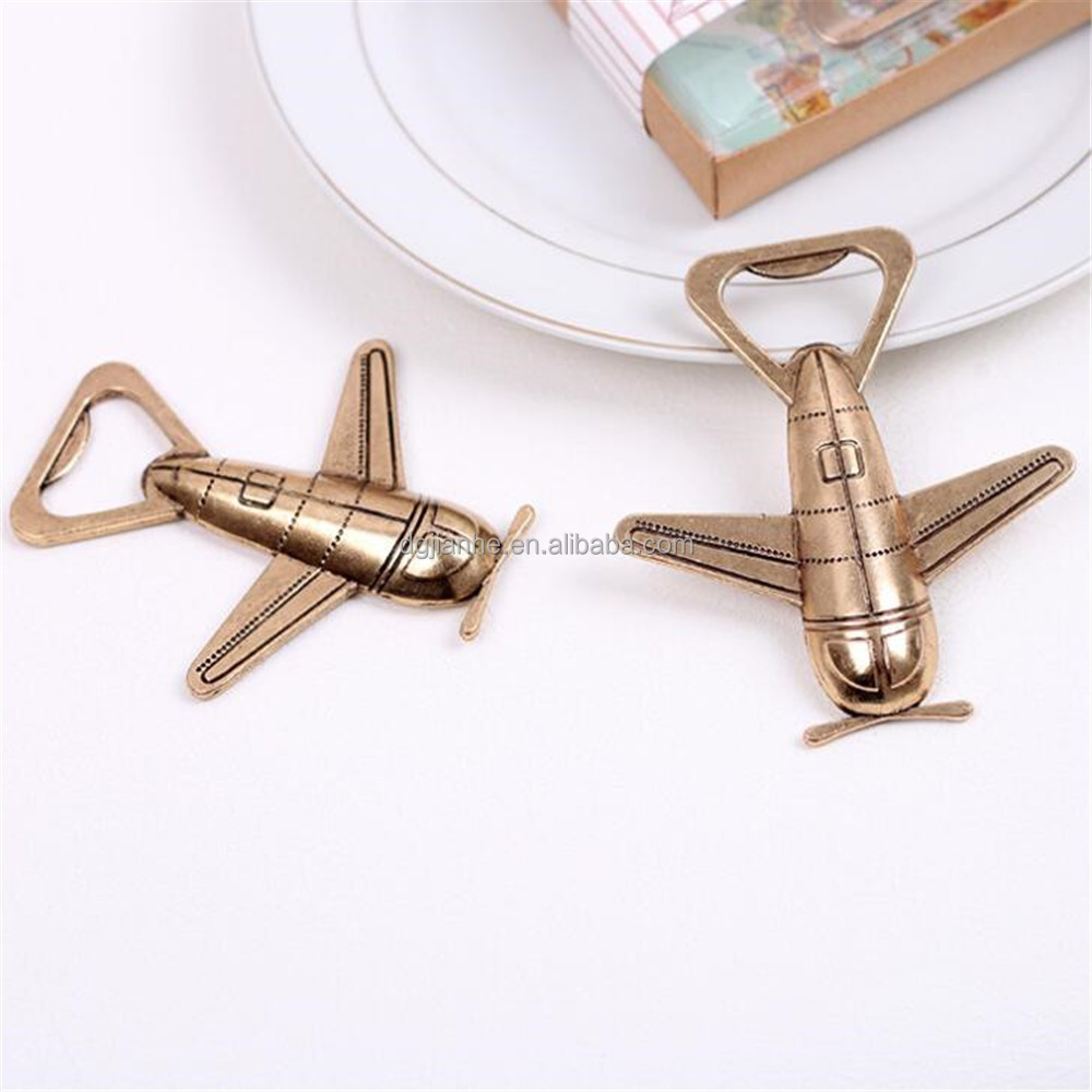 good price customized airplane bottle opener