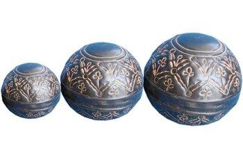 metal decorative balls hanging balls for decoration - Decorative Orbs