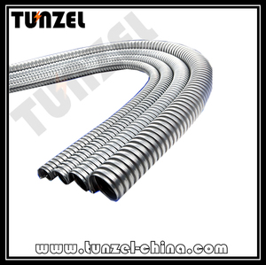 Electrical Conduit corrugated flexible steel pipe made in TUNZEL Factory