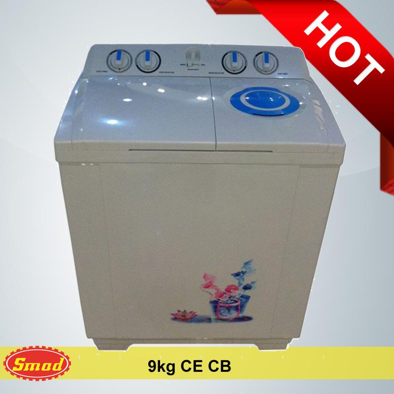 Small Mini Portable Top Loading Twin Tub Drum Laundry Wash Machine
