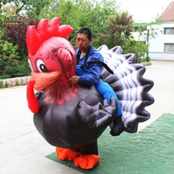 popular sale different color inflatable turkey costume lovely mascot animal costume for party event