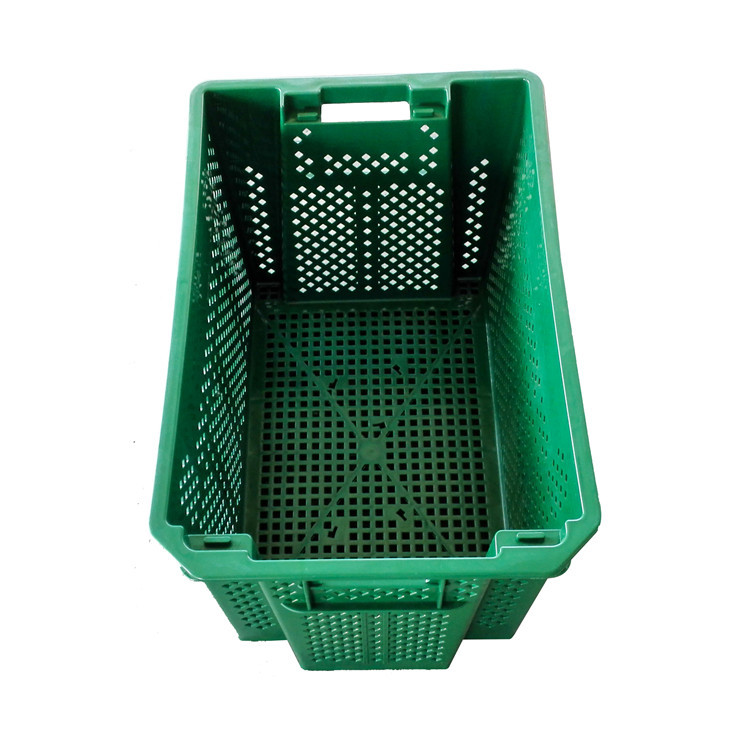 designer fruit storage plastic box warehouse vegetable crates nest stack and nest crate basket bins for sale