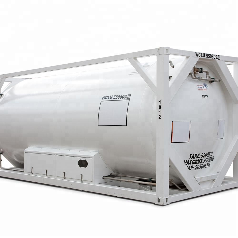 Cryogene opslagtank fabricage voor LNG/LOX/LN2/LCO2