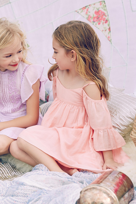 Wholesale boutique children clothes fancy baby dresses frock designs