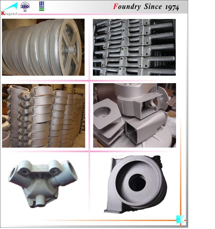 Manufacturer Welding-on Collar Steel Casting Parts/buffer Aluminum ...