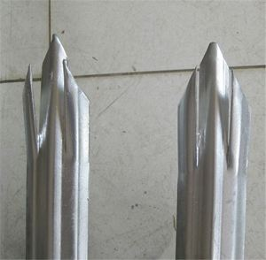 Steel Galvanized Palisade Fence,outdoor galvanized palisade steel fence