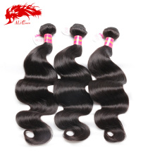 Aliqueen high quality 100 percent human virgin hair braiding hair
