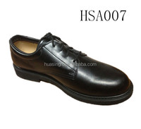 oxford sole officer dress style top layer leather military/army shoes for men