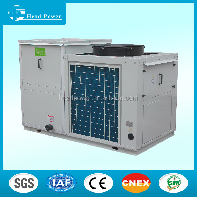 r407c air cooled condensing outddor packaged unit