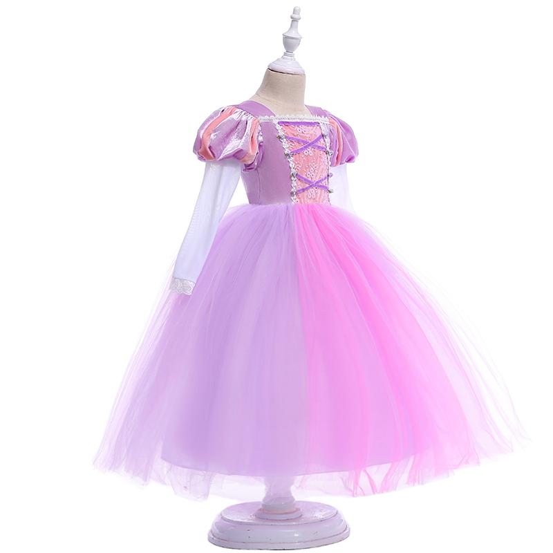 Catálogo de fabricantes de Cosplay Rapunzel Vestido de alta calidad ...