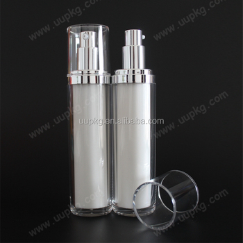 UU Packaging luxury round empty cosmetic bottle for cosmetic packaging