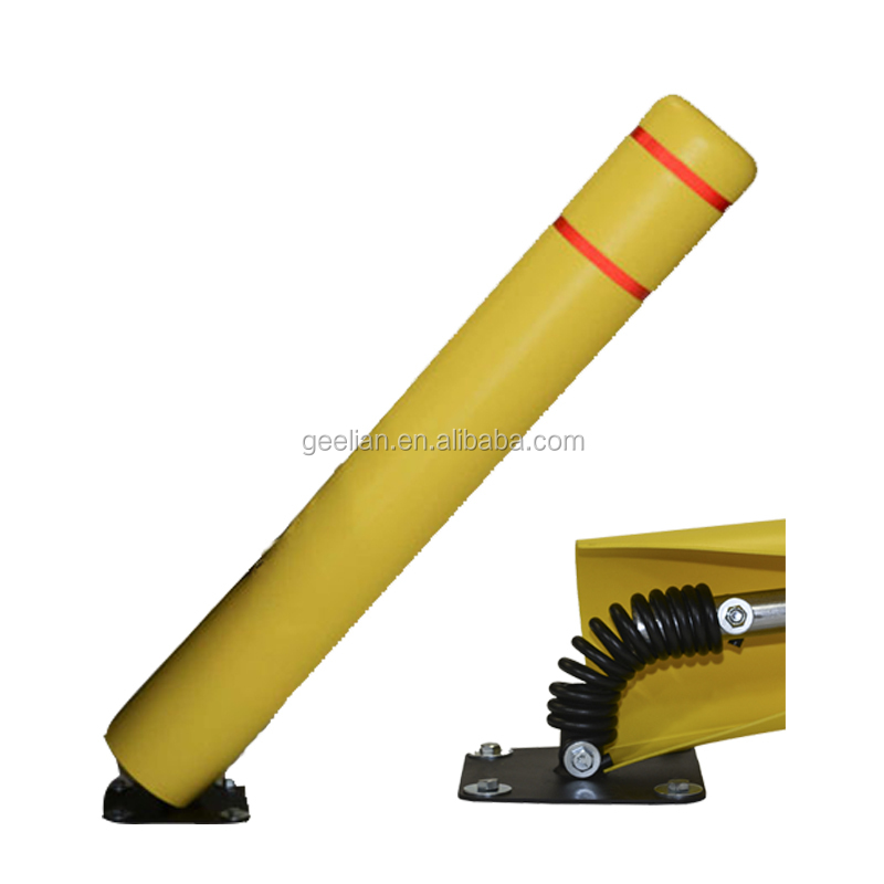 Wholesale price CE  reflective delineator  road traffic safety plastic bollard