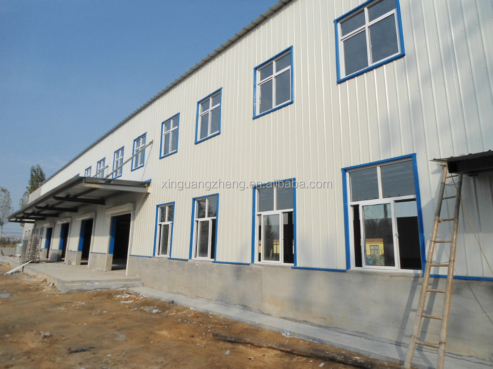 steel structure low cost Ghana prefabricated warehouse