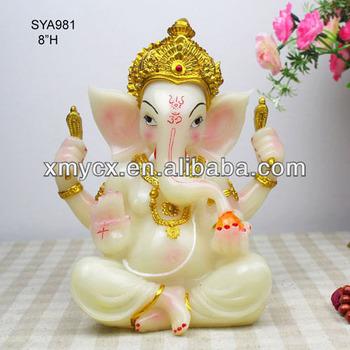 White Marble Ganesh Statue Of Hindu God Statue Buy Marble