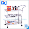2016 new design adjustable feet easy assemble 3-tier l storage rack