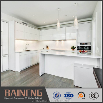 L Shape Lacquer Finished Plastic Kitchen Cabinet From China Kitchen Cabinet Factory Buy Plastic Kitchen Cabinet China Kitchen Cabinet