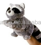 Elegant Rural Style raccoon Plush Toy, raccoon Toy, puppet