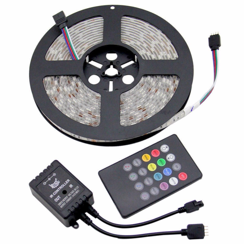 LF - High CRI 95 brand chip RGB 240led 24v 2835/3528/5050 flexible LED strip light