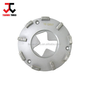 Dia.160mm HTC machine diamond grinding wheel for concrete