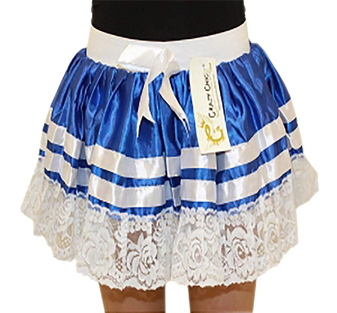 Rimi Hanger Girls 3 Layers Sailor Tutu Mini Skirt Childrens Fancy Dress Party Wear Skirt One Size (5-10 Years)