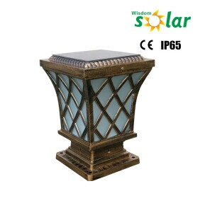 Solar Outdoor Lighting Wall Lamps/Solar Led Outside Wall Lighting/outdoor  Led Pillar Light
