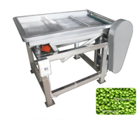 Factory Price Automatic Green Soybean Strip Machine bean pod removing machine with low damage