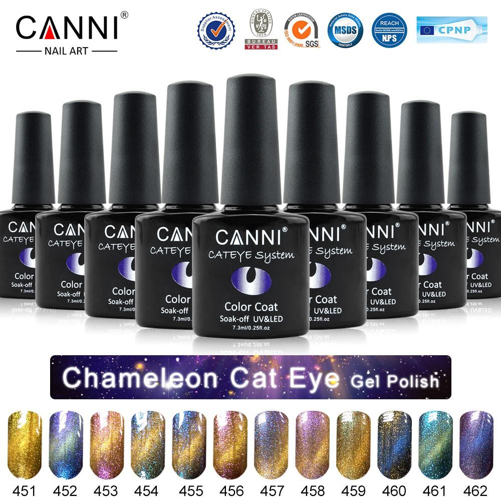 51024J 2016 Neue CANNI nail art 7,3 ml 12 farben metall spiegel ...