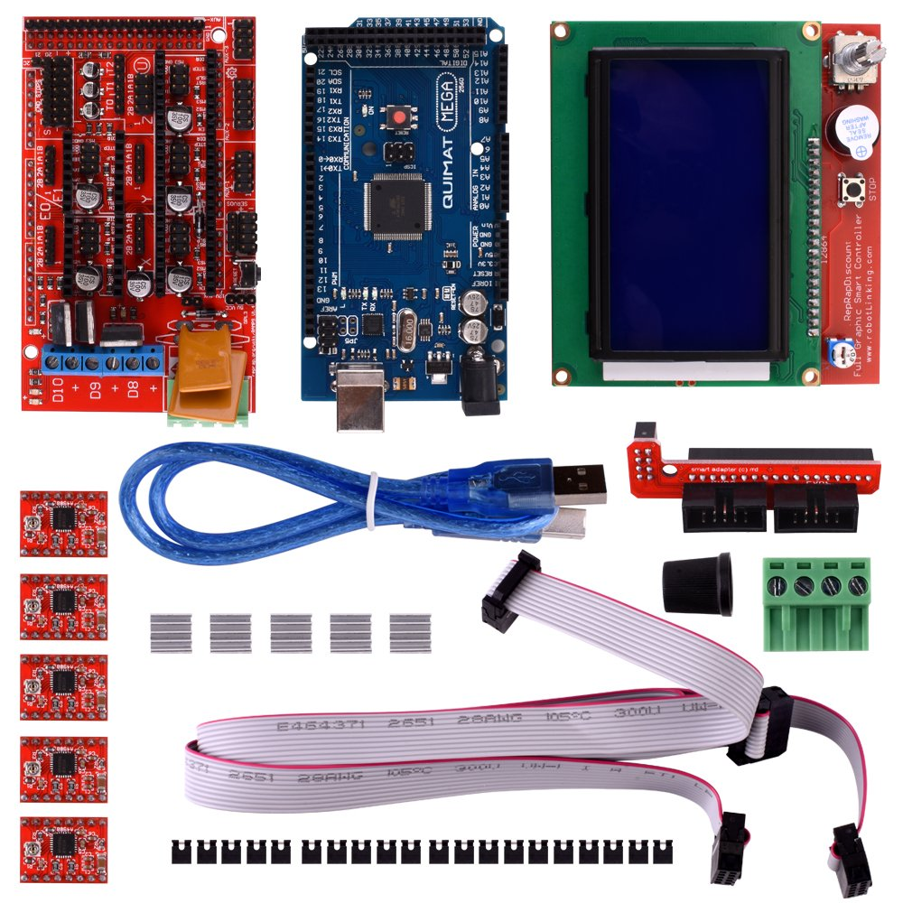 Cheap Mosfet Motor Driver Schematic Find 3d Printer Ramps 1 4 Wiring Diagram All Image About Get Quotations Quimat Controller Kit For Arduino Mega 2560 Uno R3 Starter Kits 14