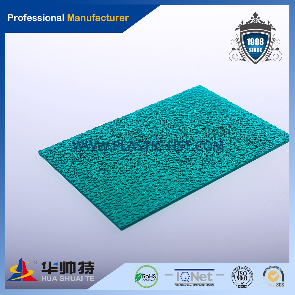 PC thermoforming embossed panel manufacturer