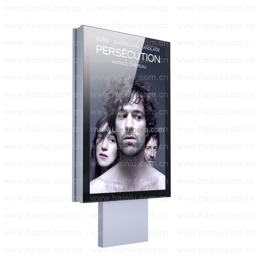 led backlight panel standing static light box