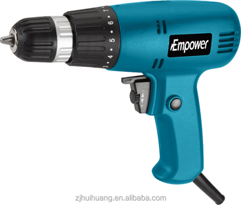 portable electric drill. pneumatic portable electric hand drilling machine drill w