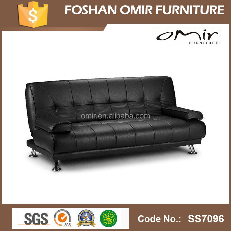 ss7096 german leather transformer sofa bed buy leather. Black Bedroom Furniture Sets. Home Design Ideas