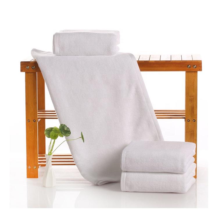 100% cotton five star luxury custom embroidered logo hotel bath towel