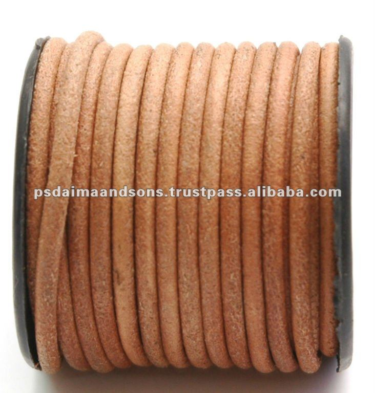 2mm Round Leather Cord,Jewelry Cord
