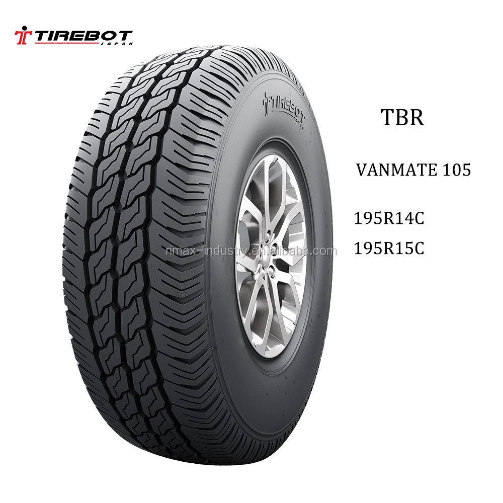 Tirebot Model no VANMATE 105 light truck tyre 185r14 195r14 185r15 195r15 225/70r15