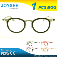 Joysee Latest New Types Of Japanese Designer Custom Made Fancy French Blue Moon Plastic China Wholesale Optical Eyeglass Frame