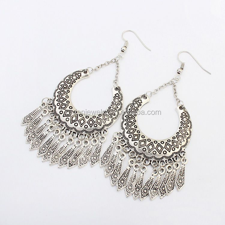 Fashionable Antique Silver Tanishq Earrings Designs Top Design Earring Product On
