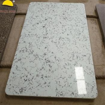 Glacier White Quartz Composite Dining Table Top