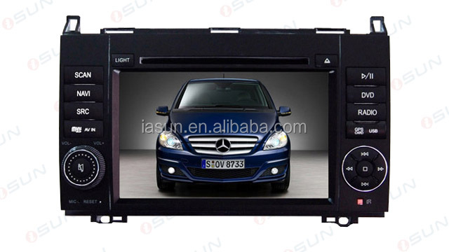 Double Din 7 Inch car dvd player gps car stereo for Vaneo Viano Vito android car dvd with high quality