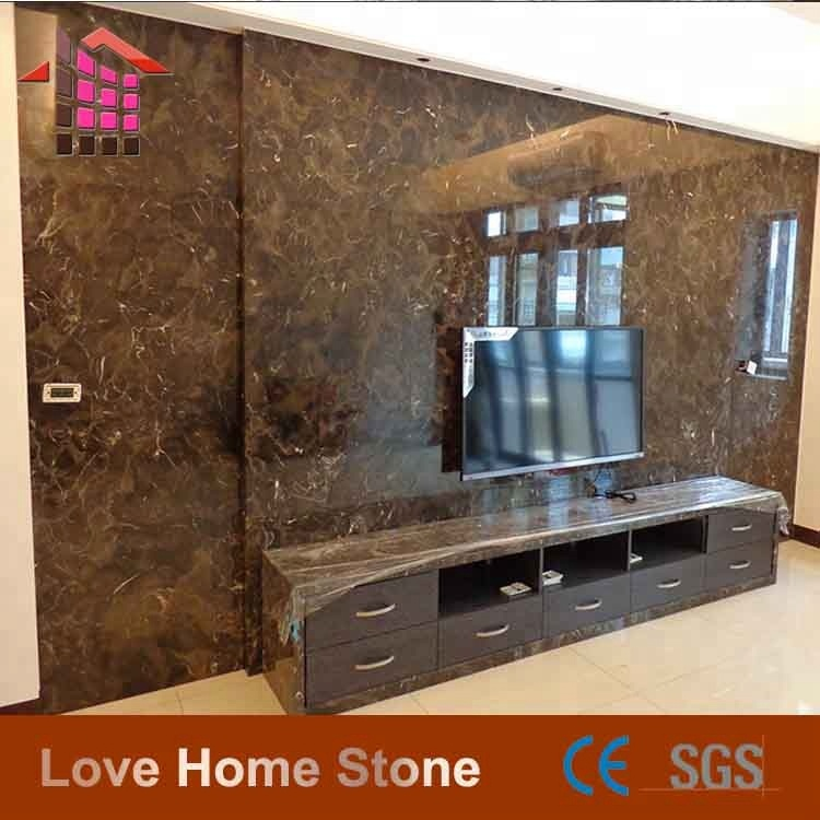 High polished portor gold marble/synthetic marble coating price tiles on sale