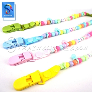 Rainbow New Baby Products T Clip Plastic Pacifier